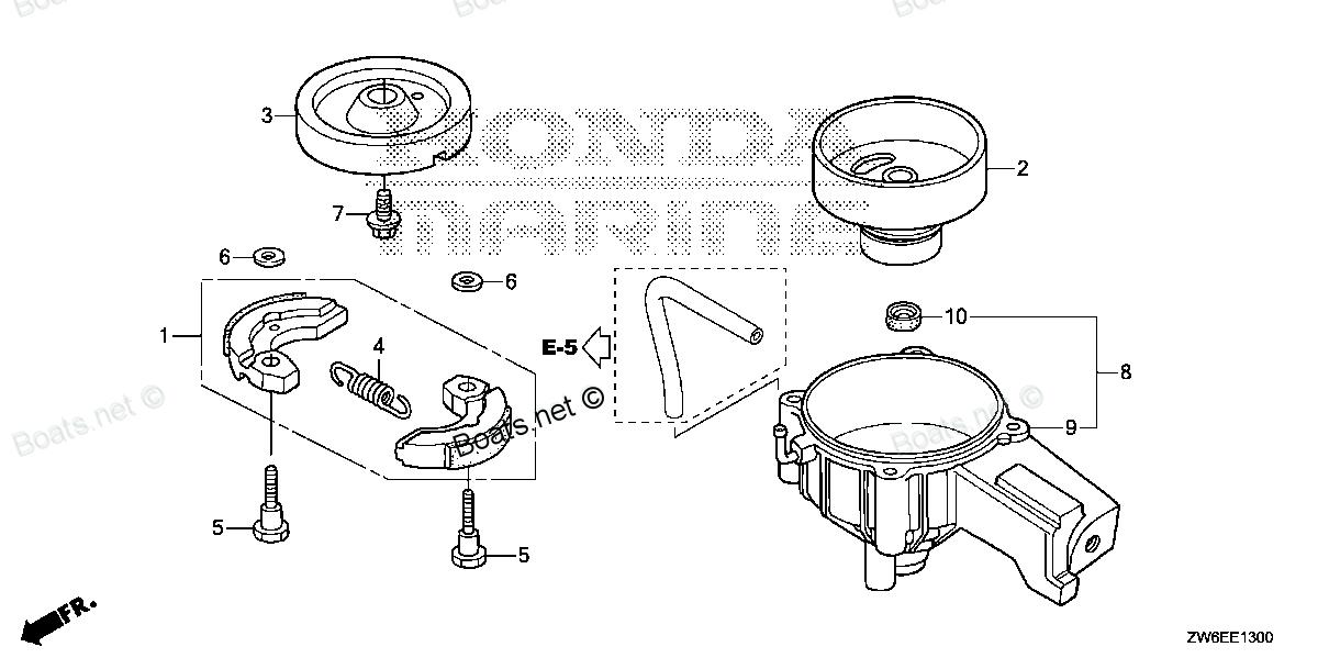 Honda схема сцепления
