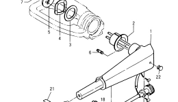 TILLER HANDLE (STEERING HANDLE)